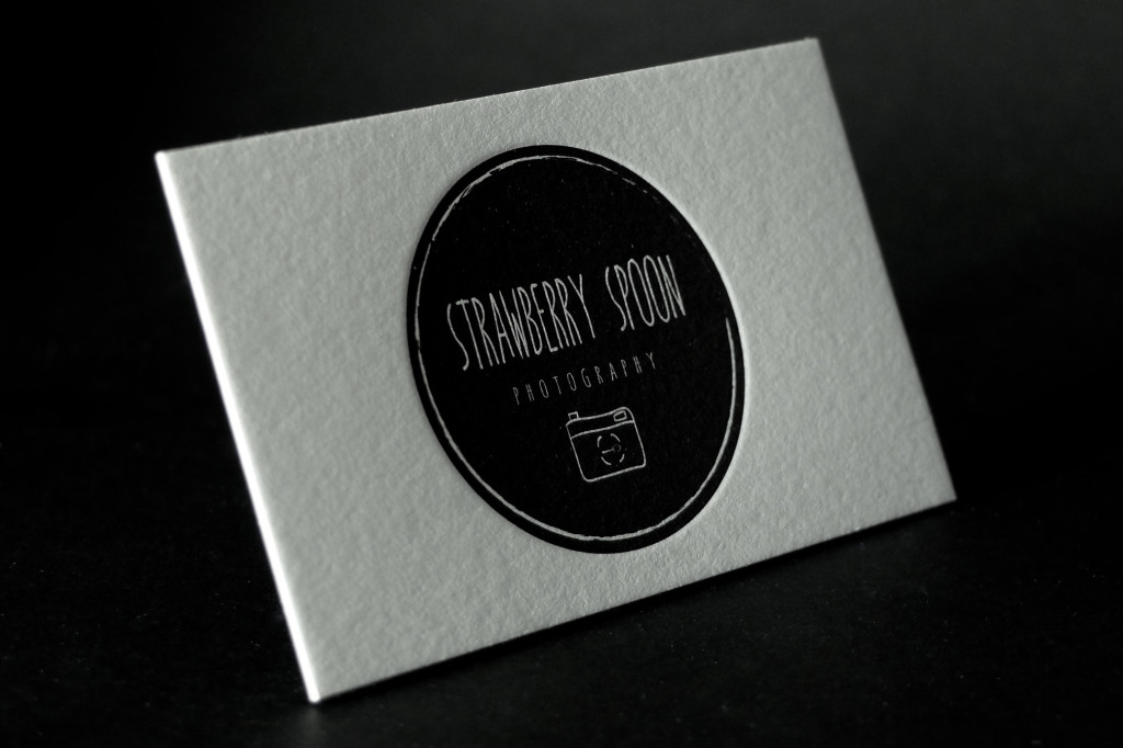 One Colour Letterpress Business Cards, Affordable Letterpress, Deluxe Business Cards, Business Cards for Photographers, Letterpress Melbourne, Letterpress Brisbane