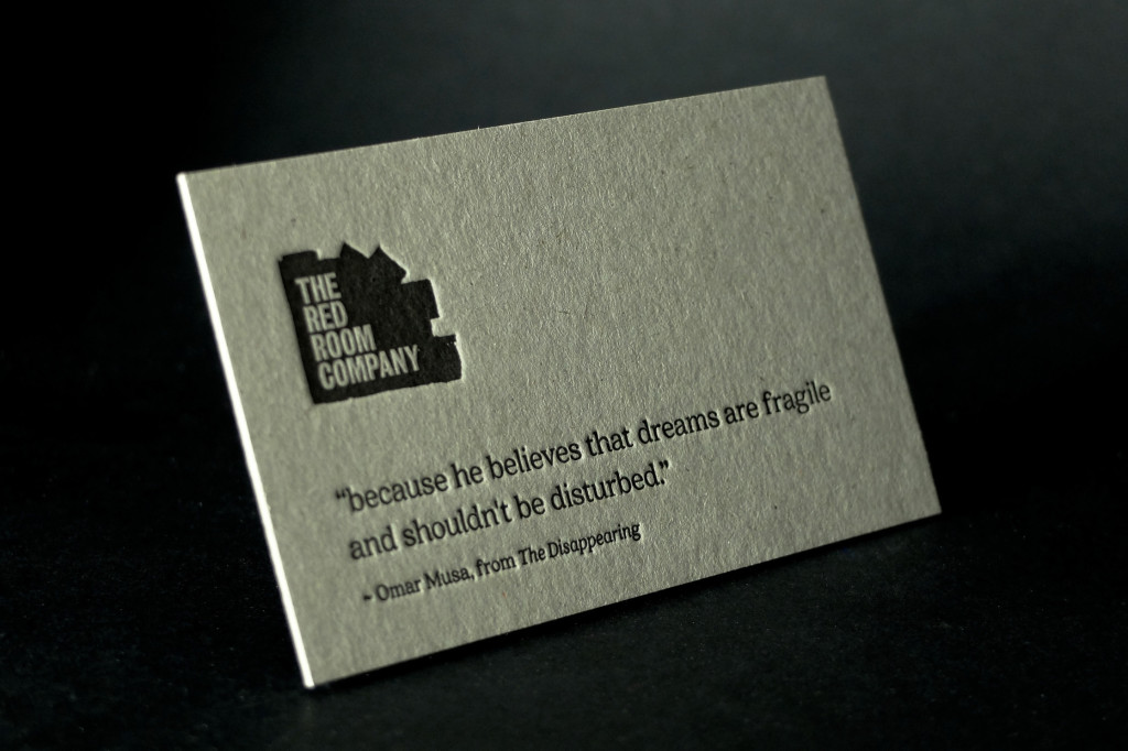 Letterpress Printing, Kraft Board Letterpress Business Cards, Cheap Letterpress