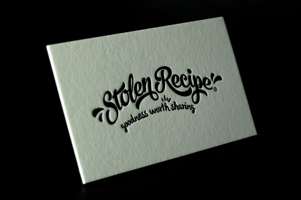 Cheap Letterpress, Black Only Letterpress, Letterpress Business Cards, I Love Letterpress, Best Letterpress Australia