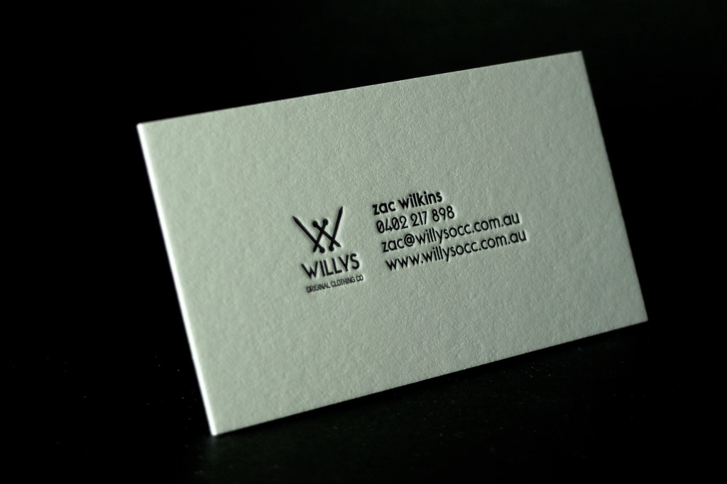 super cheap letterpress business cards, one colour letterpress printing, cheap letterpress, best business cards, affordable letterpress, retropress