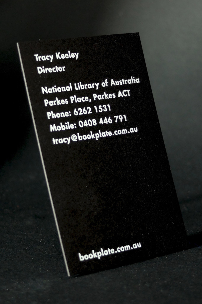 White Foil on Black business cards, hot foil business cards sydney, hot foil business cards, Retropress, Letterpress, Cheap Hot Foil, Best Letterpress Printer Australia