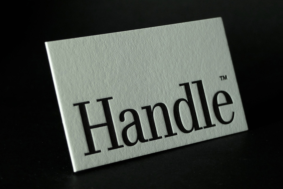 Handle Branding, Letterpress Business Cards, Affordable Letterpress Business Cards, Cheap Letterpress Sydney, Trade Pricing Letterpress, best letterpress printer sydney